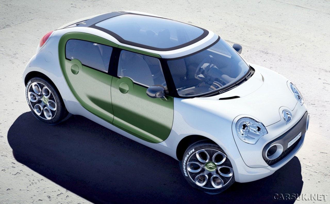 citroen to launch range of green eco cars. Black Bedroom Furniture Sets. Home Design Ideas