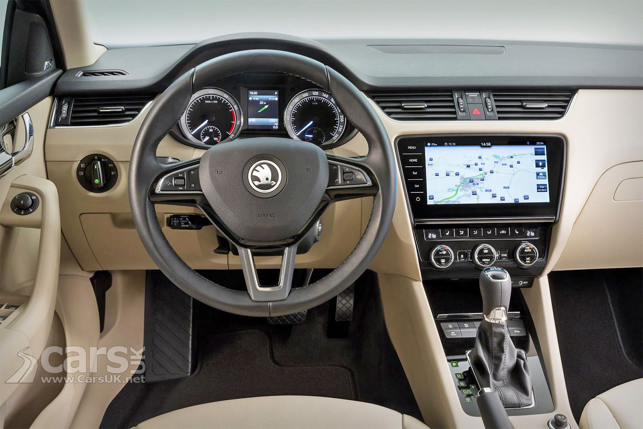New diesels autos post for Interior skoda octavia
